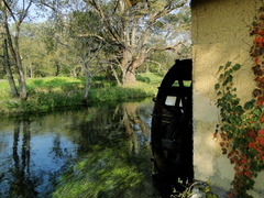 安曇野 水車小屋
