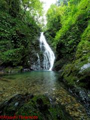 金剛の滝(上段:雄滝)通常撮影