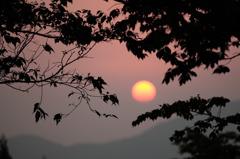 曽爾の夜明け