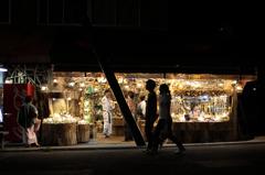 阿寒湖畔の民芸品店
