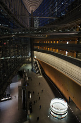 Night view of Tokyo International Forum