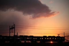 電車が、いつもどおりに走っている幸せ