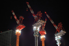 Quartet of crane
