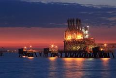 LPG船埠頭