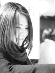 微笑み in 地主神社