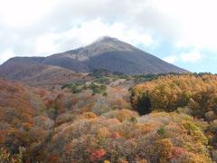 秋の会津磐梯山