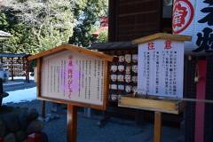 産泰神社の「抜けびしゃく」1