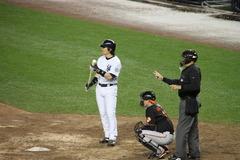 松井55 at bat 1
