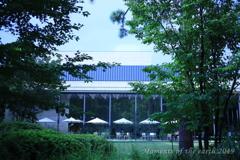 東京都庭園美術館のカフェ CANON RF35mm F1.8