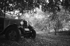 Mason Winesの古い車 オーストラリアの風景写真