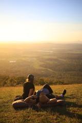 ブリスベンの夕陽 オーストラリアの風景写真