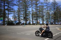 バーリーヘッズのバイク オーストラリアの風景写真