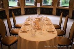 宮家のテーブル