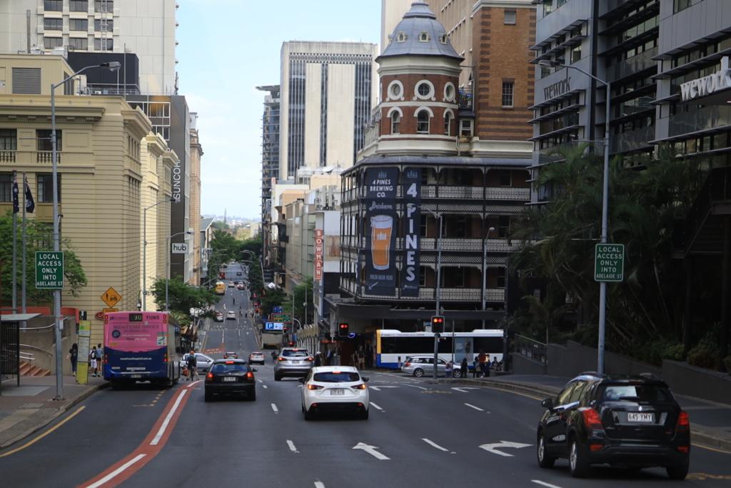 ブリスベン市街 オーストラリアの風景写真