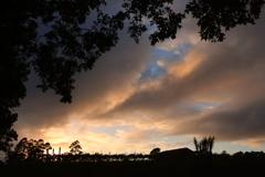 朝焼け オーストラリアの風景写真