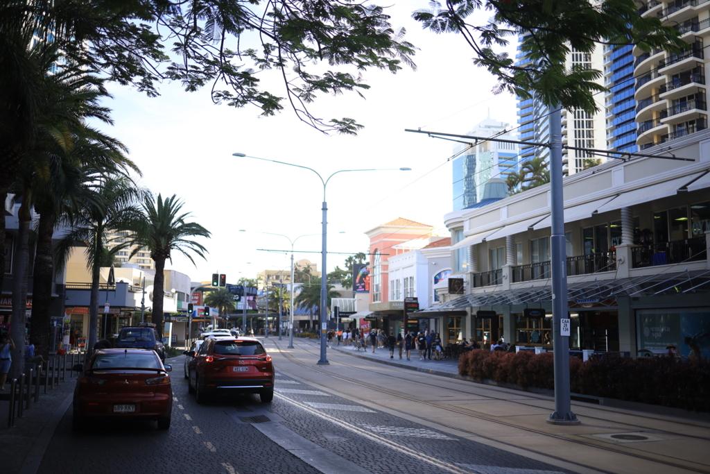 ゴールドコーストの街 オーストラリアの風景写真