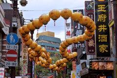 中華街・春節