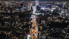 東京の夜景は綺麗だった