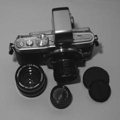 「Pentax Auto110 Lens on E-PL5」(digital)