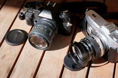 「本日的写真機 10/13」 XR-8, PEN-F