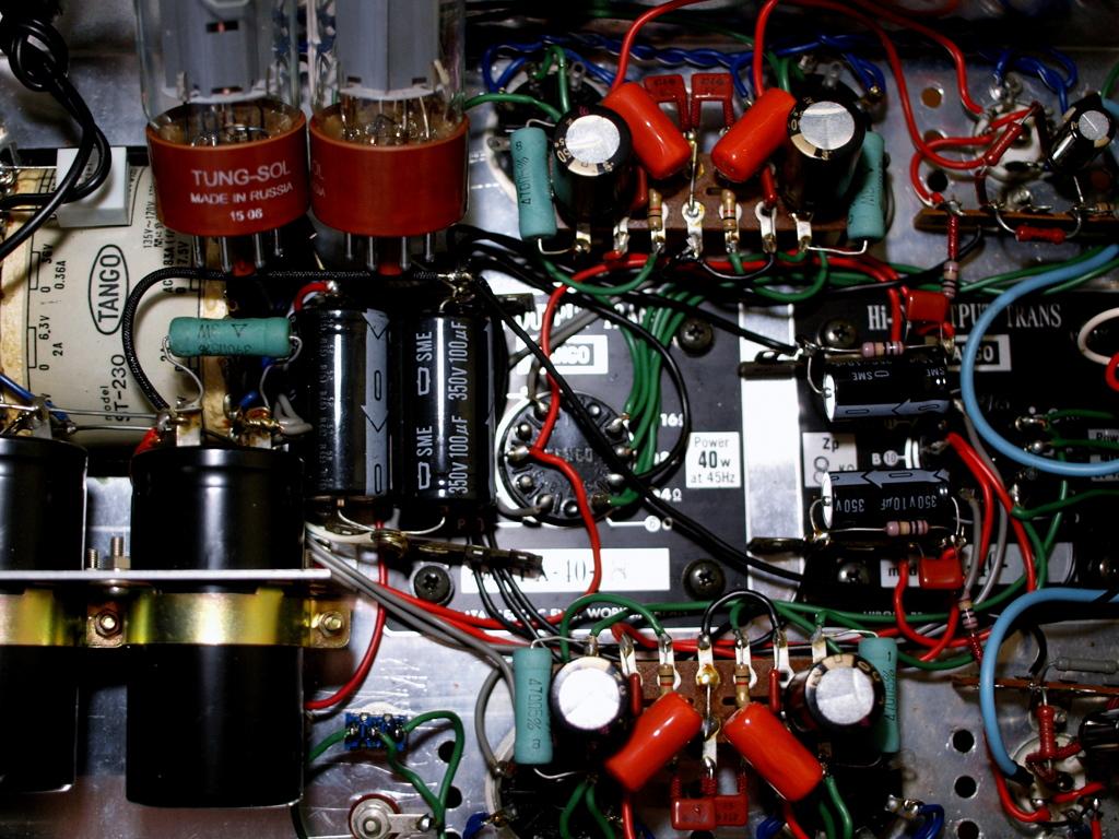 「maintenance of amplifier」 E-420