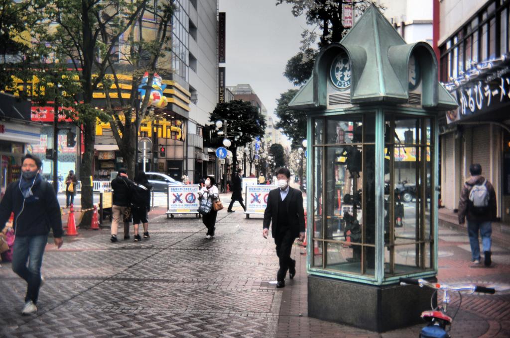 「からくり時計 town people」 (digital)