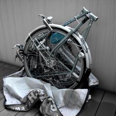 「Bicycle 03: 旅の準備」  Caplio GX100