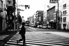 「六角橋交差点」 (digital)