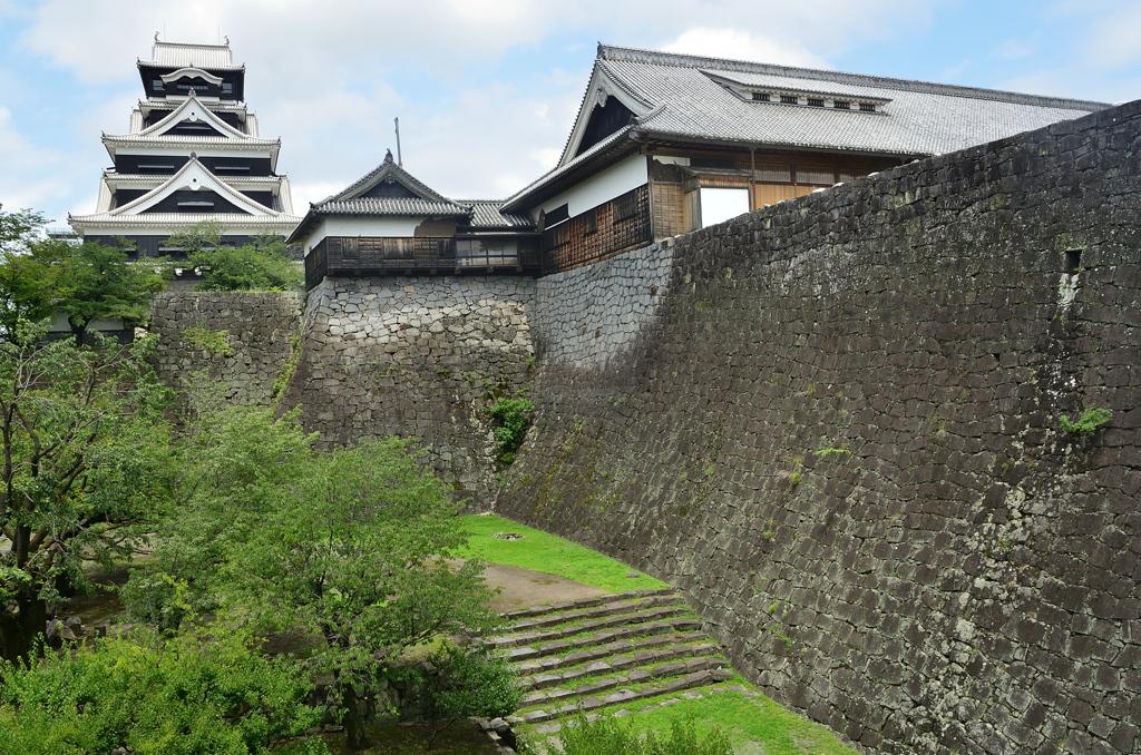 熊本城2020 7月-3 大天守と本丸御殿