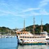 九十九島2020 9月-1 遊覧船パールクイーン号