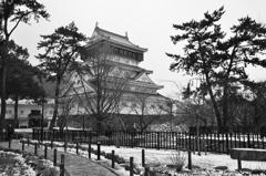 小倉城2021 1月-2 城内散策路