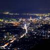 皿倉山2019 9月-3 北区 夜景