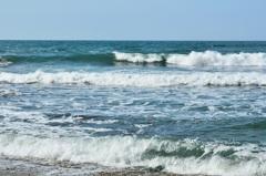 はまゆう公園2020 4月 浜辺&波