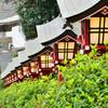 篠崎八幡神社2021 1月 灯篭