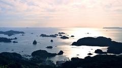 九十九島2020 9月-5 石岳展望台 島影②