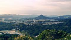 九十九島2020 9月-5 石岳展望台 烏帽子岳