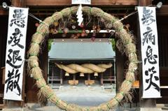 宮地嶽神社2020 8月-1 楼門②
