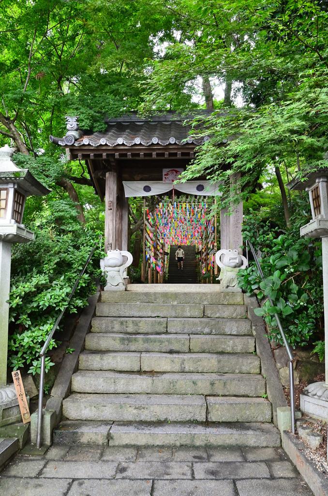 如意輪寺2020 7月-1 山門