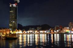 門司港レトロ2018-2 夜景 揺らぎ