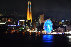 めかり公園2019 12月 海峡ゆめタワー夜景