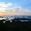 九十九島2020 9月 展海峰-1 島々&夕景