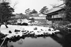 小倉城2021 1月-2 下屋敷庭園 ①