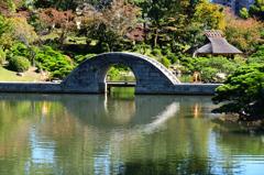 縮景園2020 10月-1 跨虹橋