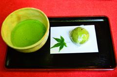 大興善寺2021 4月-3 抹茶セット