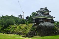 熊本城2020 7月-1 戍亥櫓 宇土櫓 大天守
