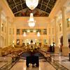 ハウステンボス2020 9月 夜のHOTEL AMSTERDAM ロビー