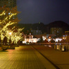 門司港レトロ2018-2 夜景 国際友好記念図書館