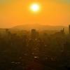 K市2020 8月-1 夕陽と光の道①