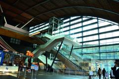 九州国立博物館2021 1月 エントランス