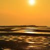 真玉海岸2020 2月-3 夕陽①